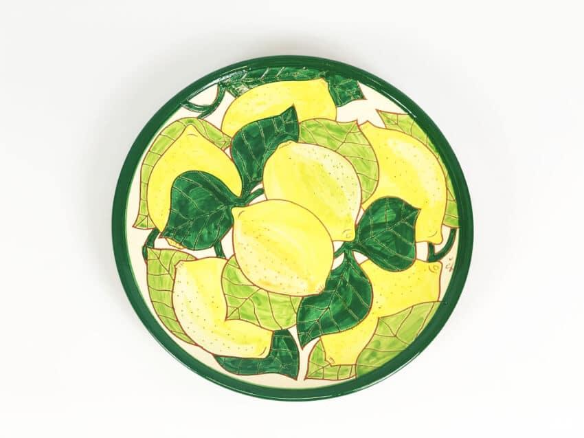 Signature - Lemons - Plate