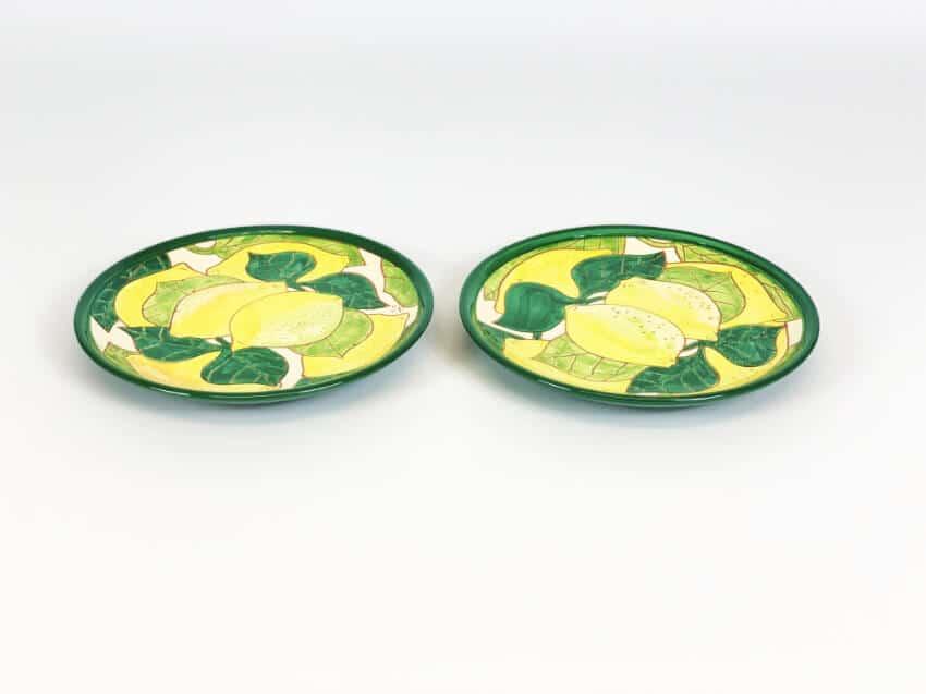 Verano-Spanish-Ceramics-Signature-Lemons-Set-of-2-Small-Plates-2