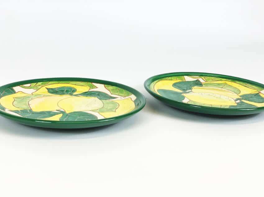 Verano-Spanish-Ceramics-Signature-Lemons-Set-of-2-Small-Plates-3