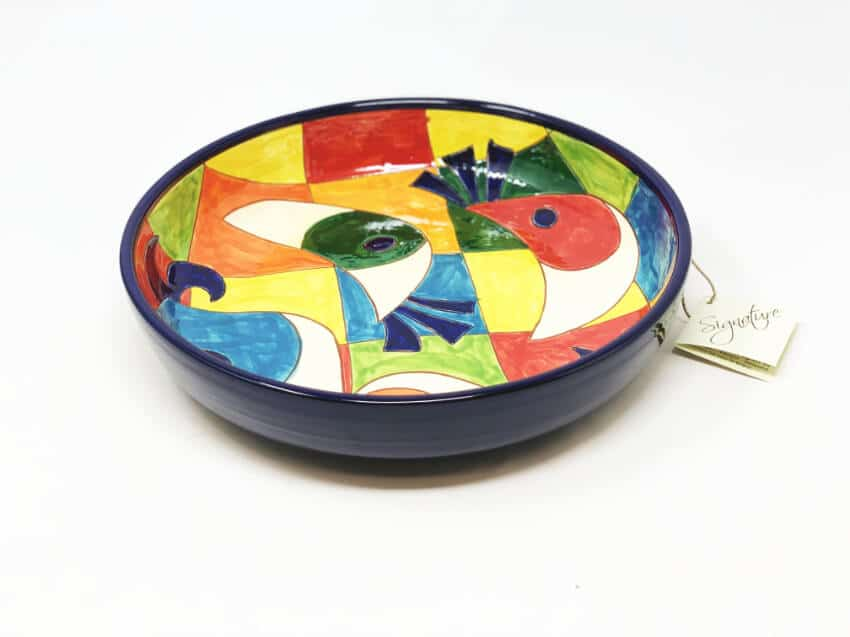 Verano-Spanish-Ceramics-Signature-Moderno-Pez-Large-Bowl-2
