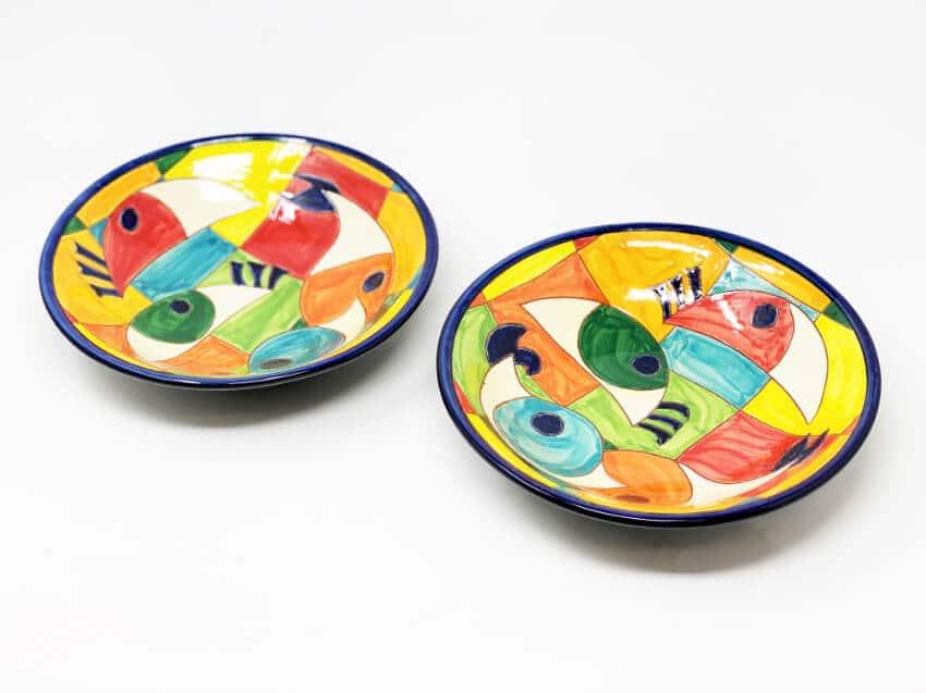 Signature - Moderno Pez - Set Of 2 Pasta Bowls