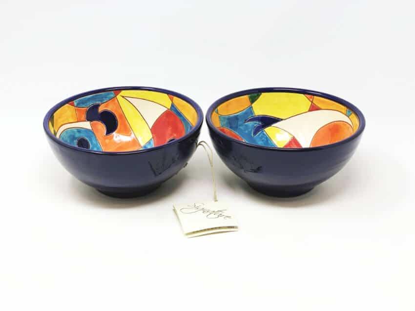 Signature - Set Of 2 Moderno Pez Appetizer Bowls