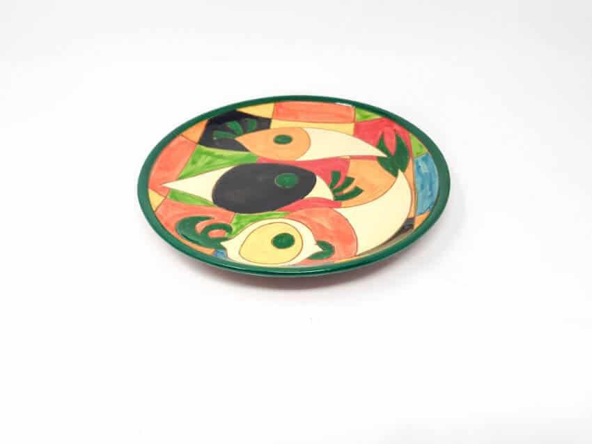 Verano-Spanish-Ceramics-Signature-Moderno-Pez-set-of-6-Plates-6