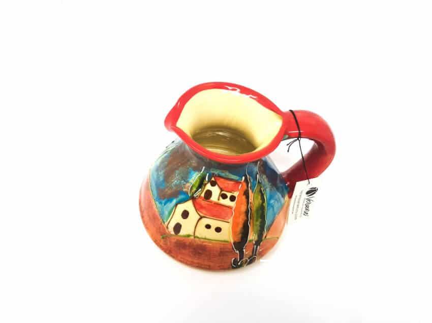 Verano-Spanish-Ceramics-Tuscany-Collection-Flat-Based-Jug-1