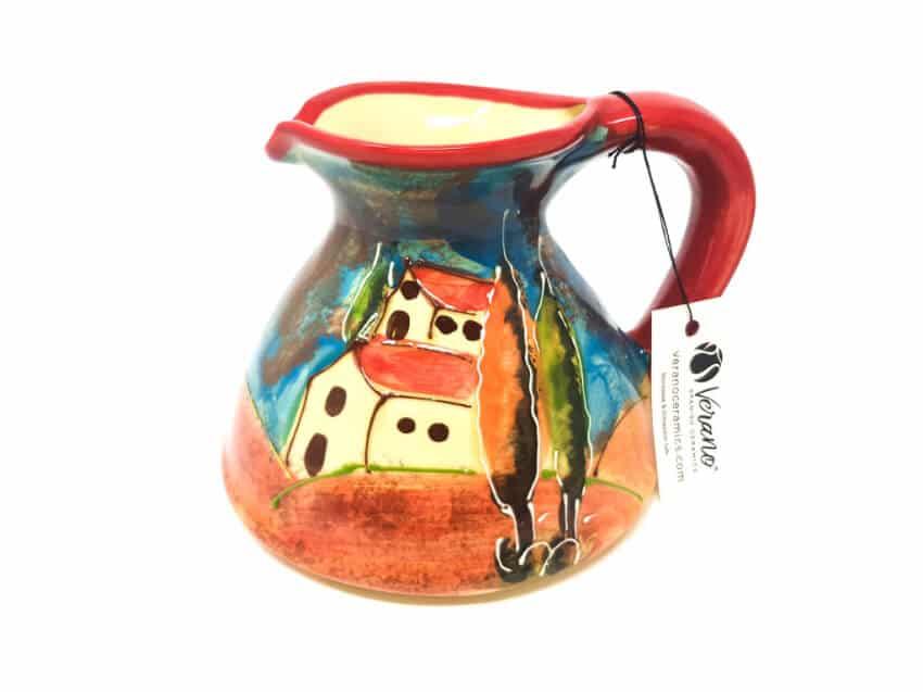 Verano-Spanish-Ceramics-Tuscany-Collection-Flat-Based-Jug-4