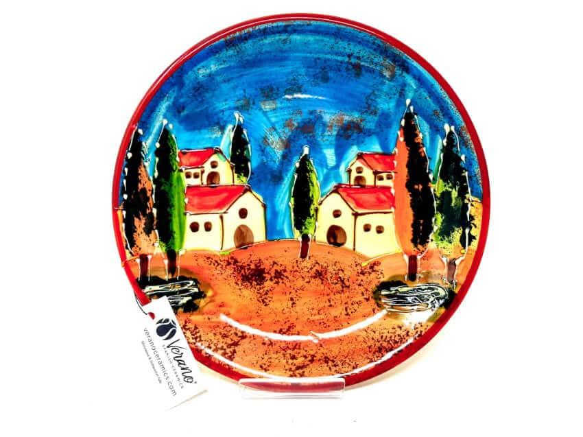 Verano-Spanish-Ceramics-Tuscany-Collection-Plate-3