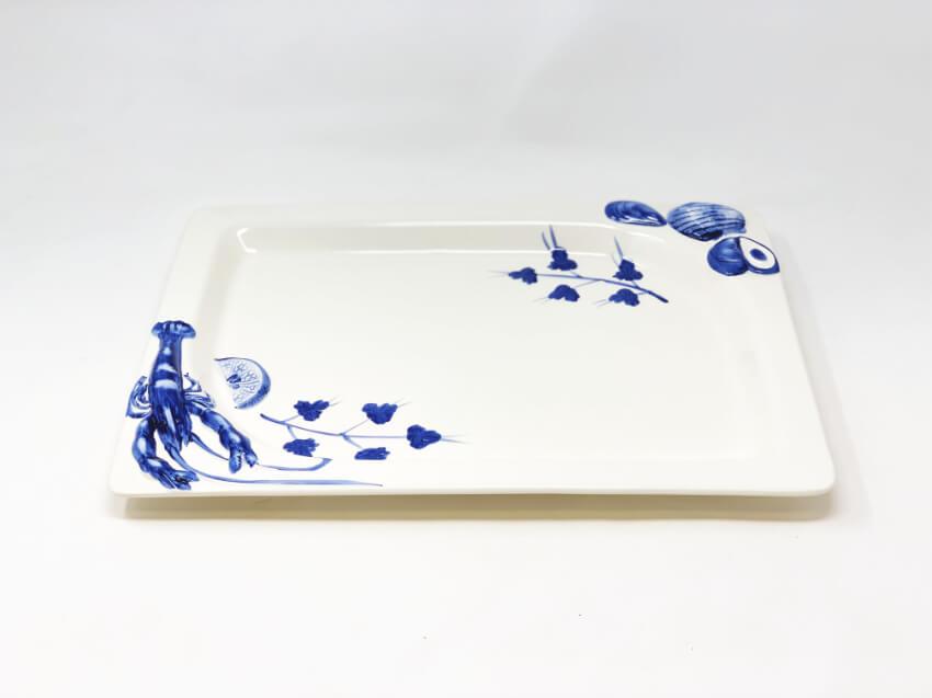 Sea Shell Rectangular Platter