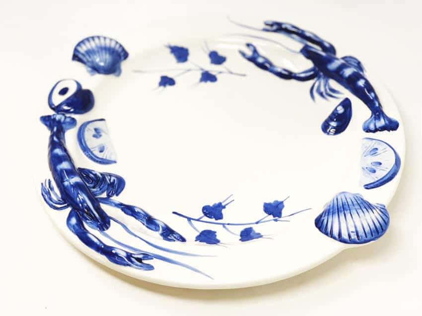 Sea Shell Round Platter