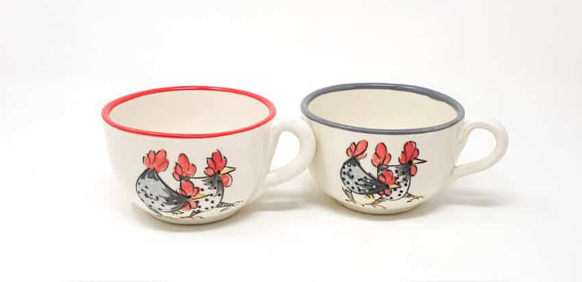 Farmhouse - Sets Of 2 Round Cups