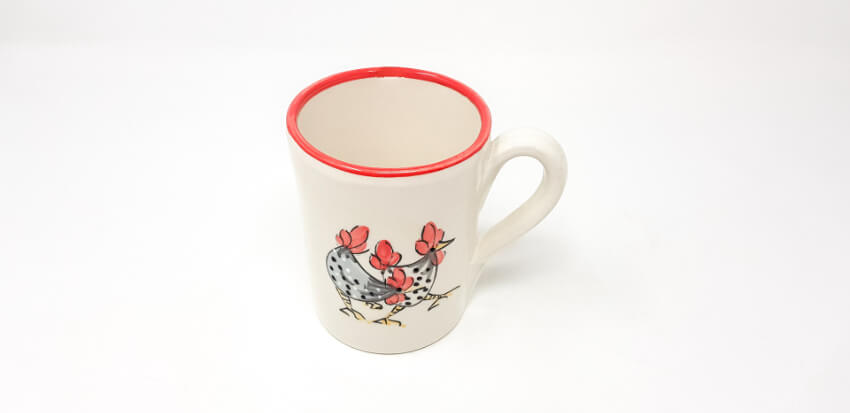Verano-Spanish-Cermics-Farmhouse-Mug-Red-14