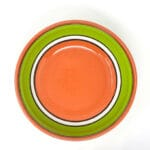 Verano-Spanish-Cermics-Fiesta-Salad-Bowl-Green-4