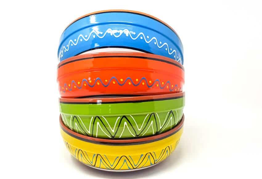 Verano-Spanish-Cermics-Fiesta-Salad-Bowls-Group-9