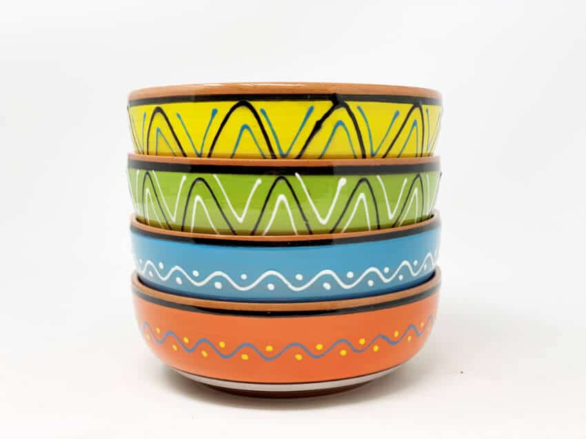 Verano-Spanish-Cermics-Fiesta-Serving-Bowl-5