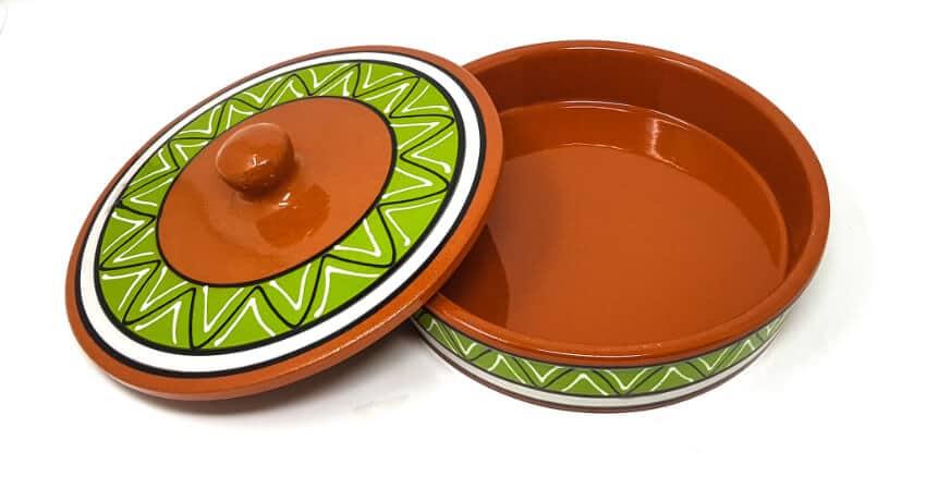Verano-Spanish-Cermics-Fiesta-Tortilla-Green-3
