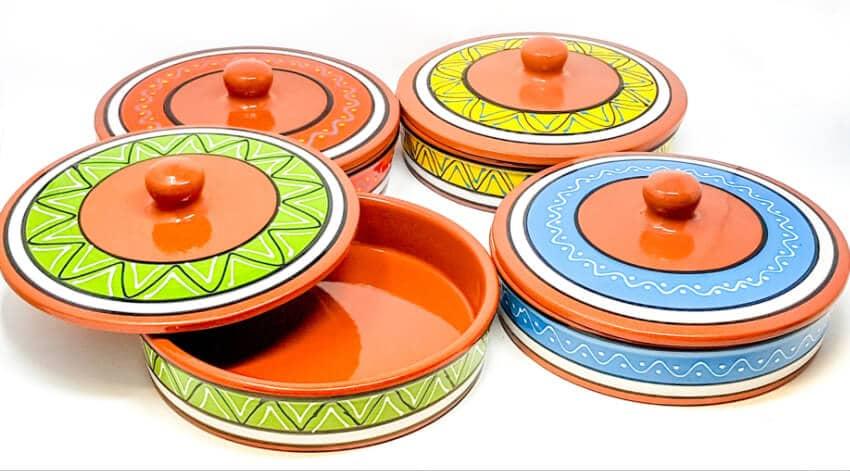 Fiesta - 25Cm Hand Painted Tortilla Servers