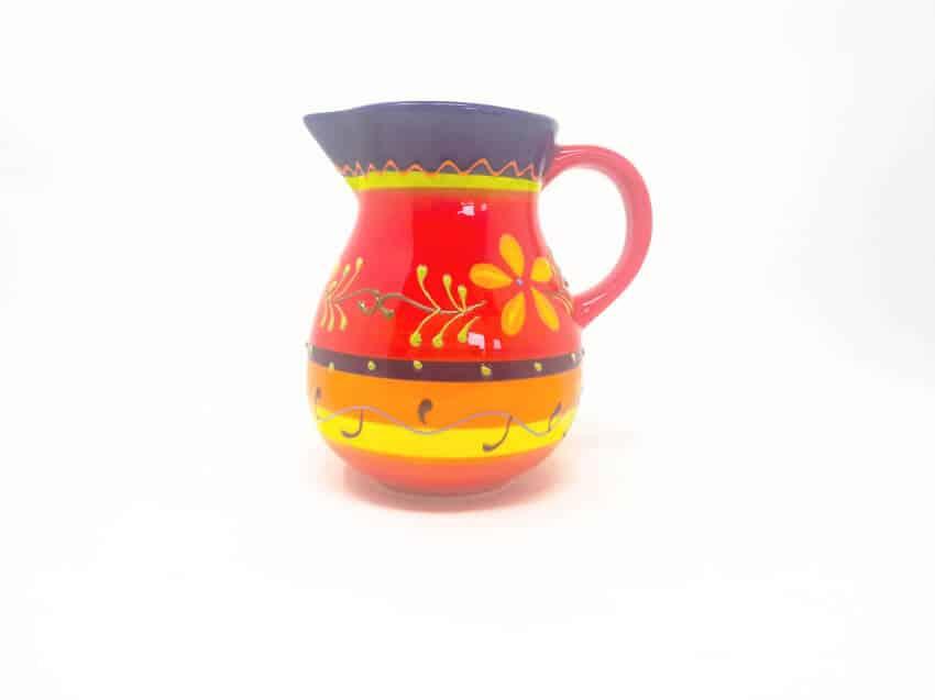 Verano Ceramics Classic Spanish 1l Jug Daisy Chains 1