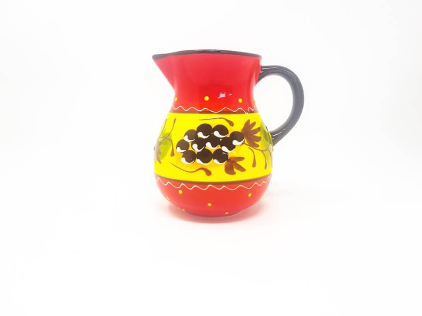 Verano Ceramics Classic Spanish 1l Jug Grapes 1