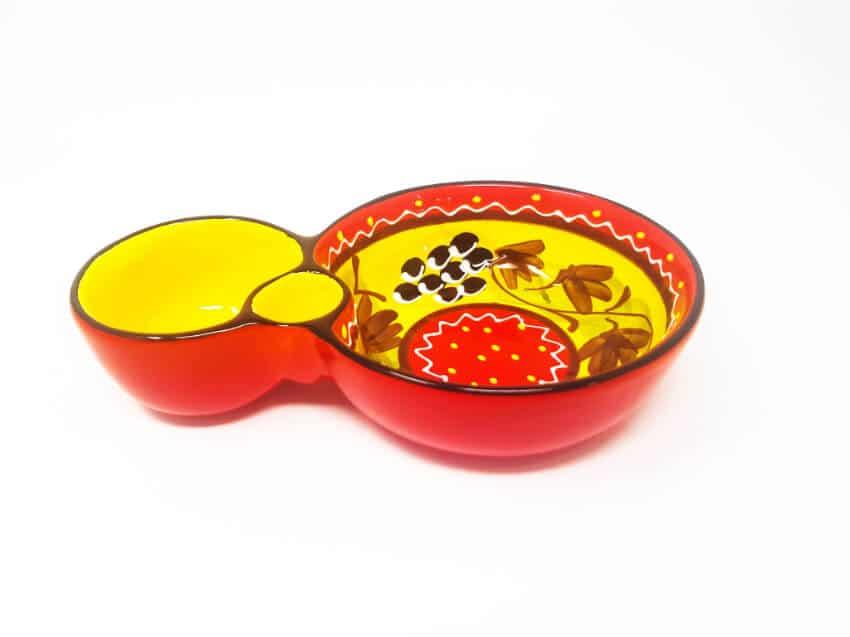 Verano Ceramics Classic Spanish Olive Dish 8 Grapes 2 3