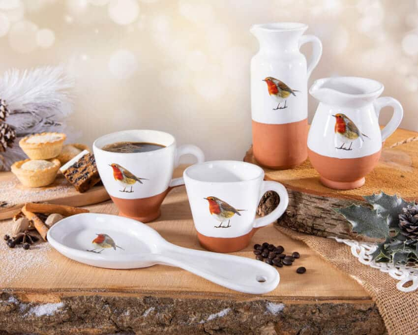 Verano Ceramics Rustic Robin Group 11