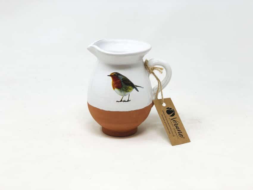 Verano Ceramics Rustic Robin Mini Jug