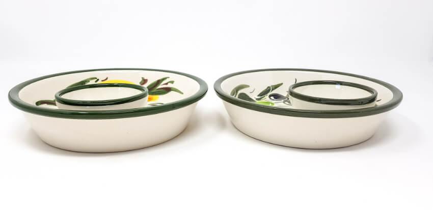 Verano Spanish Ceramics Buena Vida Collection Olive Dish 2