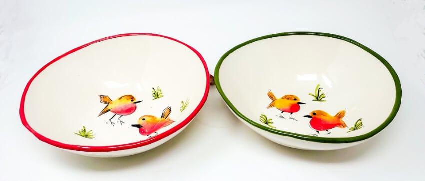 Verano Spanish Ceramics Christmas Robin Ceramic Collection AirBrush 20190926105844