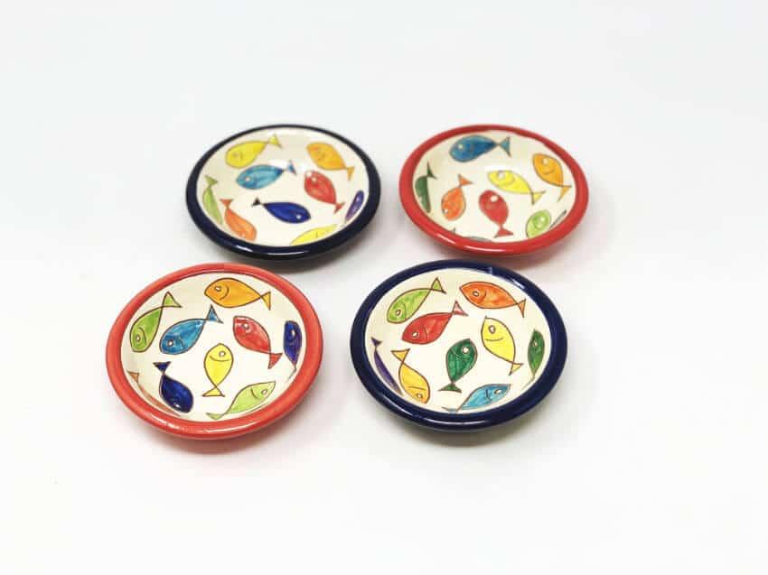 Verano Spanish Ceramics Signature Coloured 10cm Tapas Bowls 6