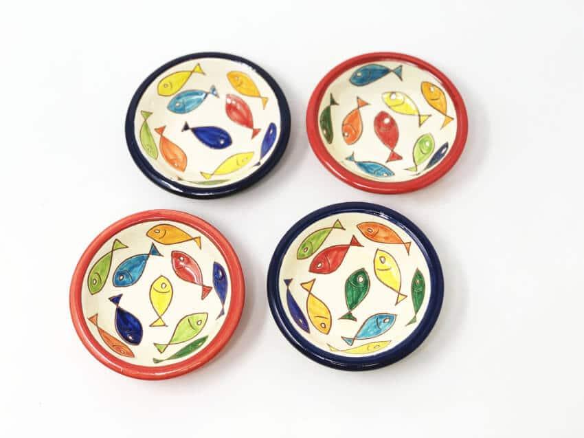 Verano Spanish Ceramics Signature Coloured 10cm Tapas Bowls 7