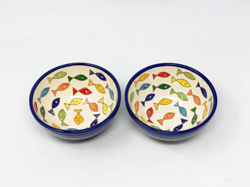 Verano Spanish Ceramics Signature Coloured Appetiser Bowls 4