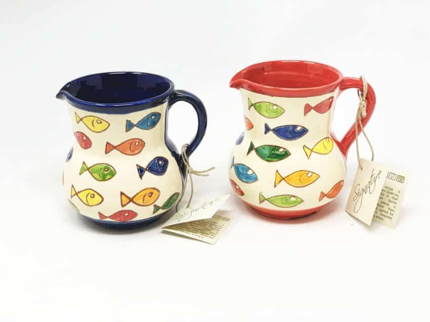 Signature - Coloured Fish - Small Jug