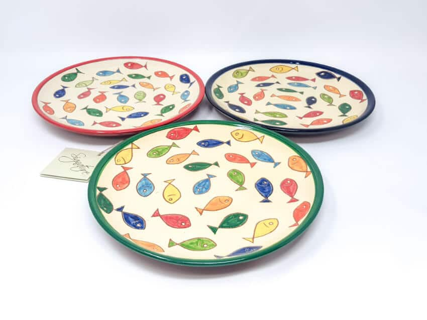 Verano Spanish Ceramics Signature Coloured Plate 15