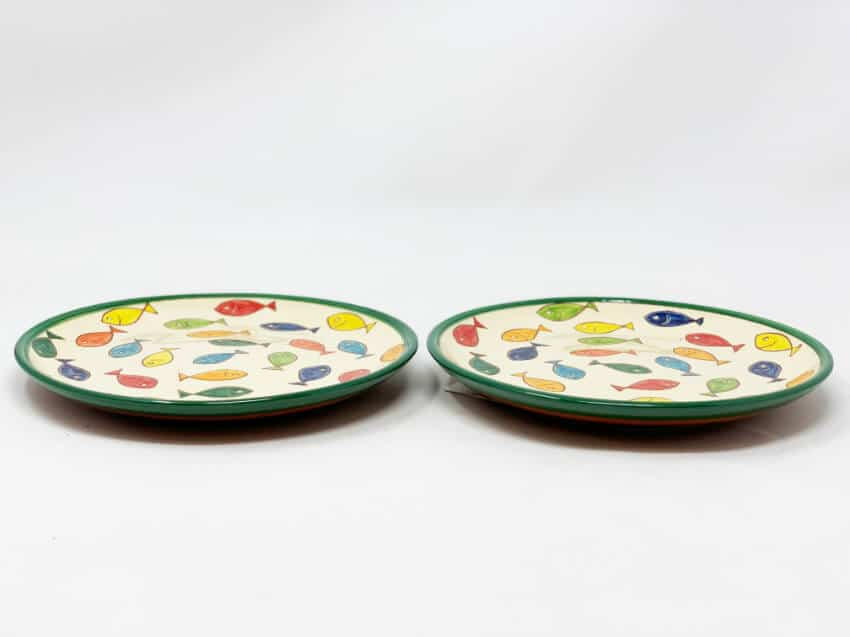 Verano Spanish Ceramics Signature Coloured Plate 2