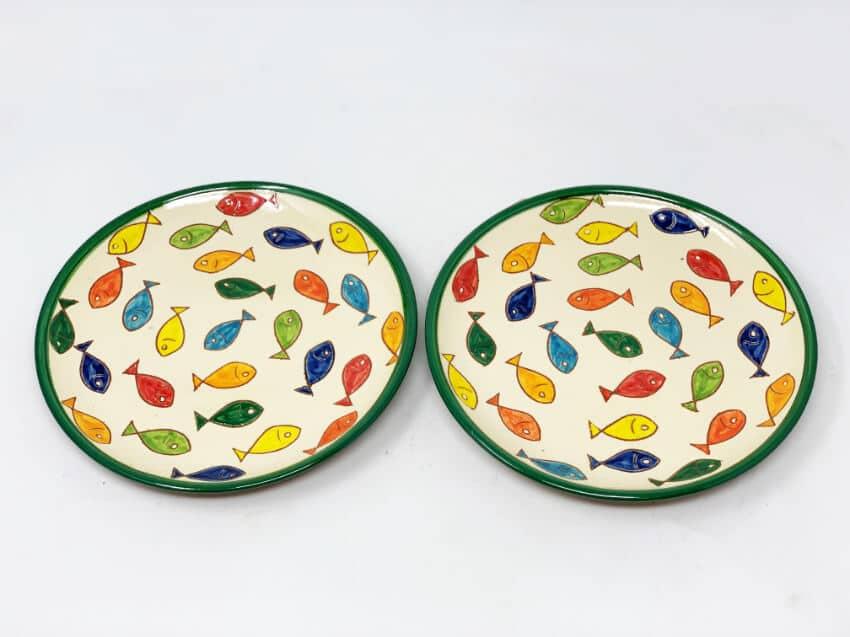 Verano Spanish Ceramics Signature Coloured Plate 3