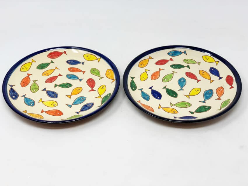 Verano Spanish Ceramics Signature Coloured Plate 4