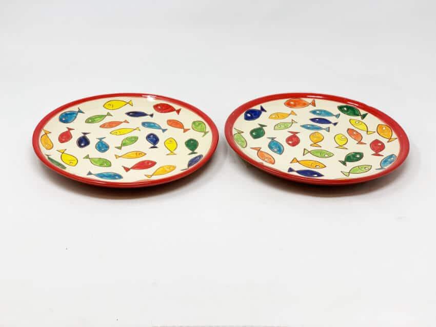Verano Spanish Ceramics Signature Coloured Plate 8