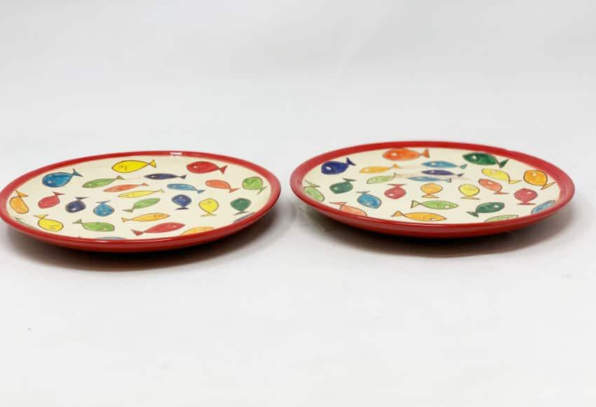 Verano Spanish Ceramics Signature Coloured Plate 9