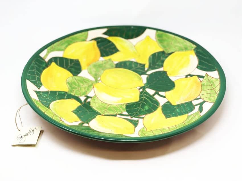 Verano Spanish Ceramics Signature Lemons Large Platter 2