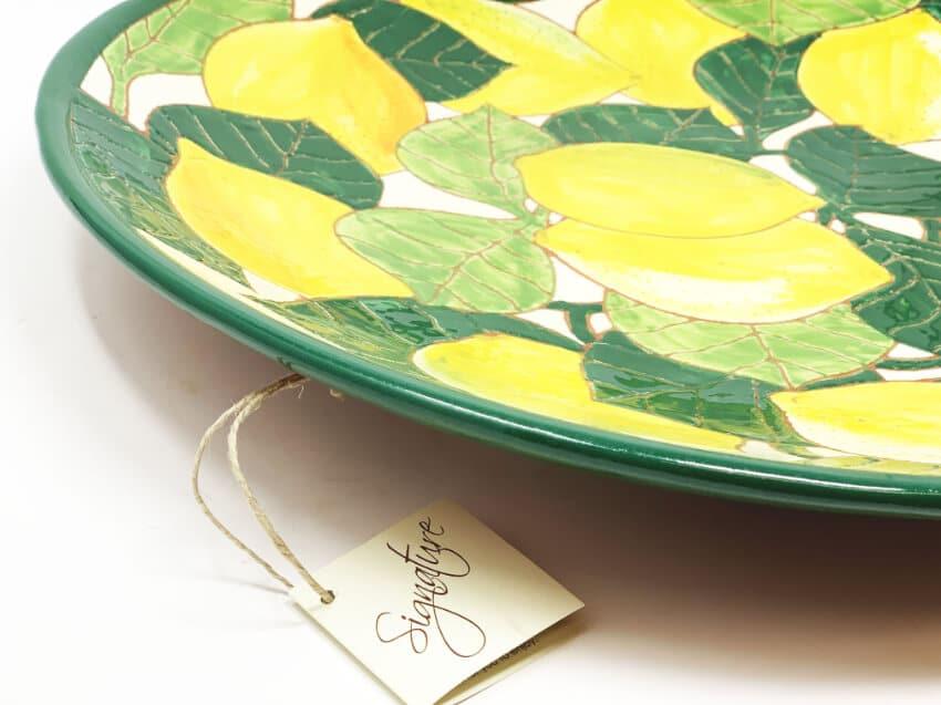 Verano Spanish Ceramics Signature Lemons Large Platter 3