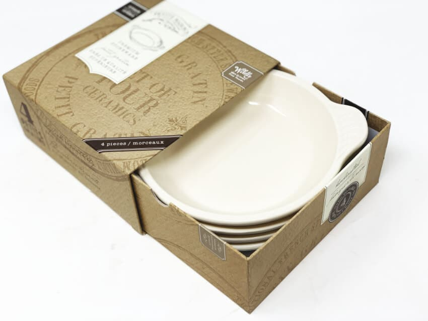 Wildly delicious Petit Gratin set of 4 dishes in gift box 4