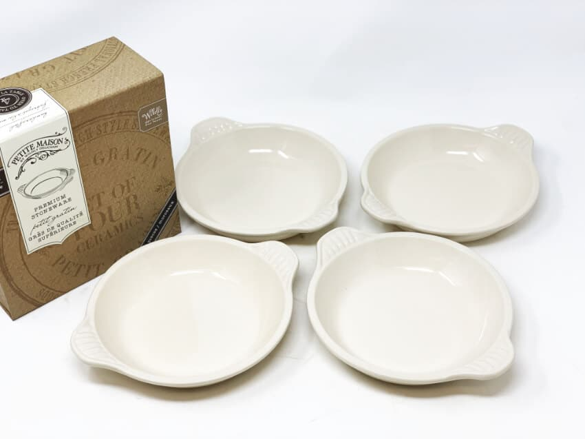 Wildly delicious Petit Gratin set of 4 dishes in gift box 5
